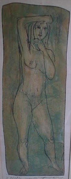"""Nude"" 1/1 by Irving Amen"